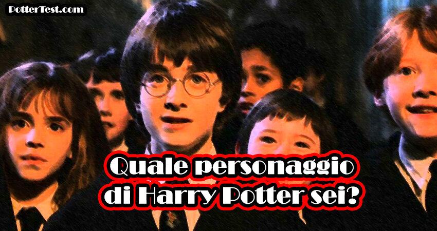 Quale personaggio di Harry Potter sei